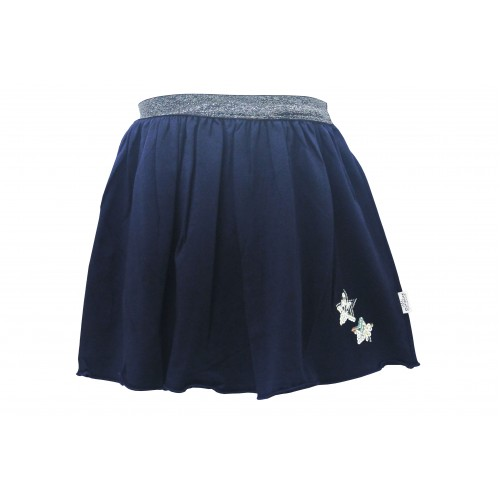 NAVY SEQUIN SKIRT