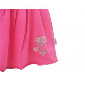 HOT PINK SEQUIN SKIRT