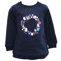 FLEECE TOP WITH FLOWERS