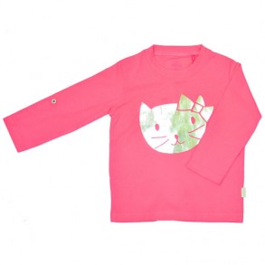 Long Sleeve Cat Top