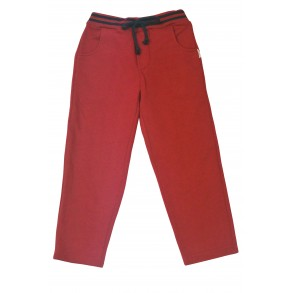 WOODLAND TRACKPANTS IN CHILLI